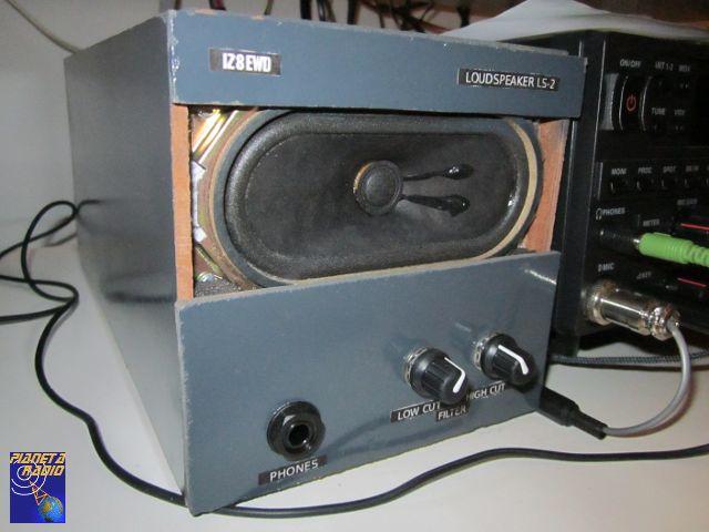 Altoparlante radio con filtri