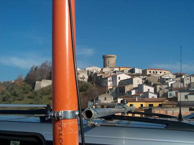Antenna Y - Fissaggio