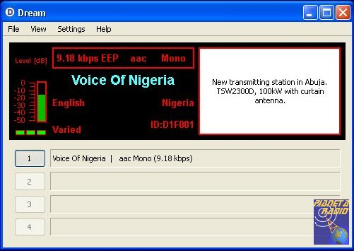 Dream - Voice of Nigeria