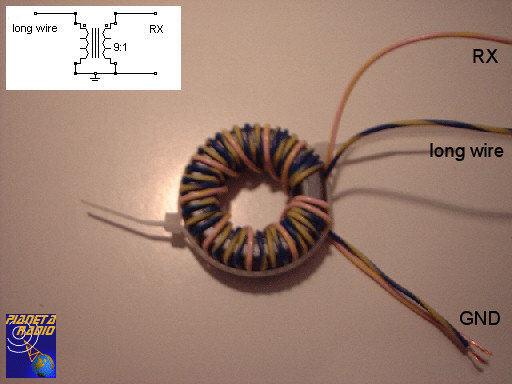 Balun longwire
