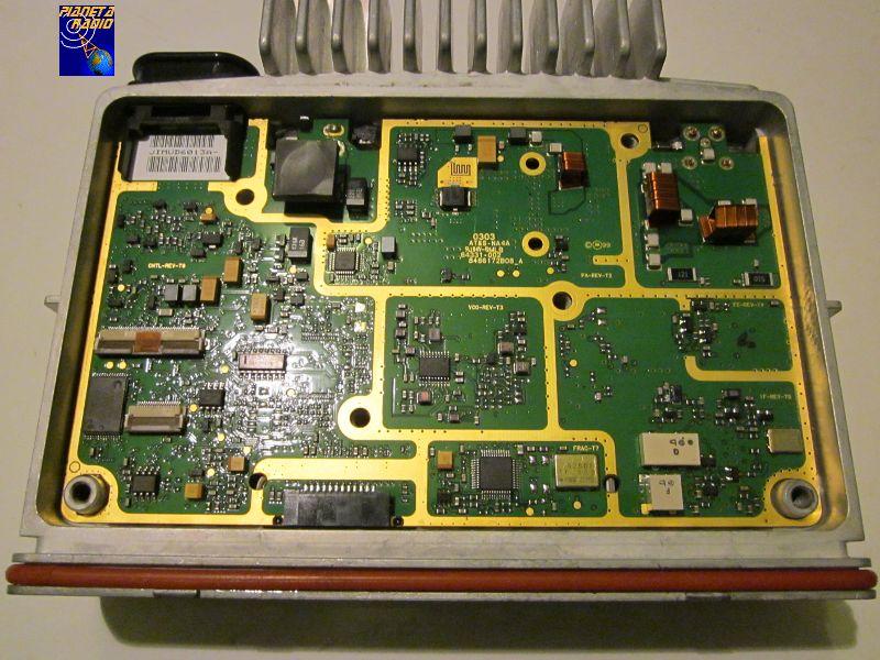 Motorola GM - inside