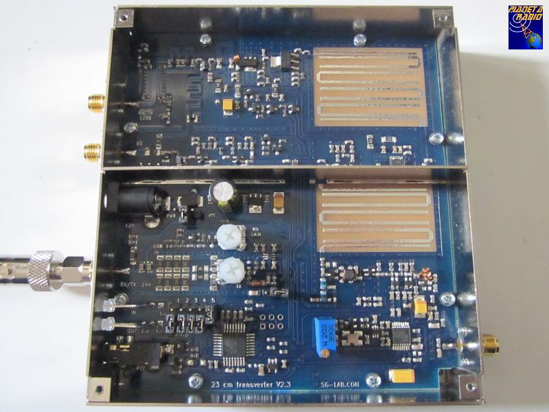 SG-Lab Transverter 23 cm - Vista interna