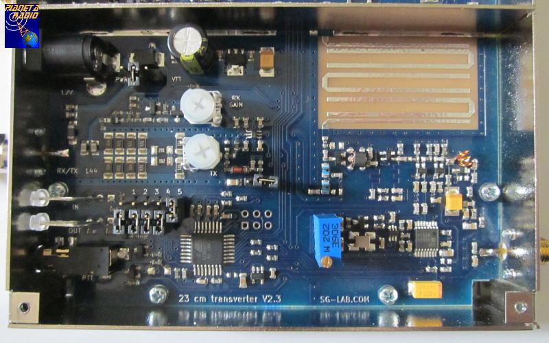 SG-Lab Transverter 23 cm - Mixer e Controller
