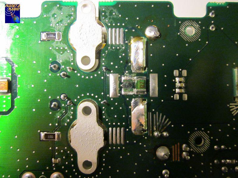 Yaesu FT-847 - 70 MHz PA mod