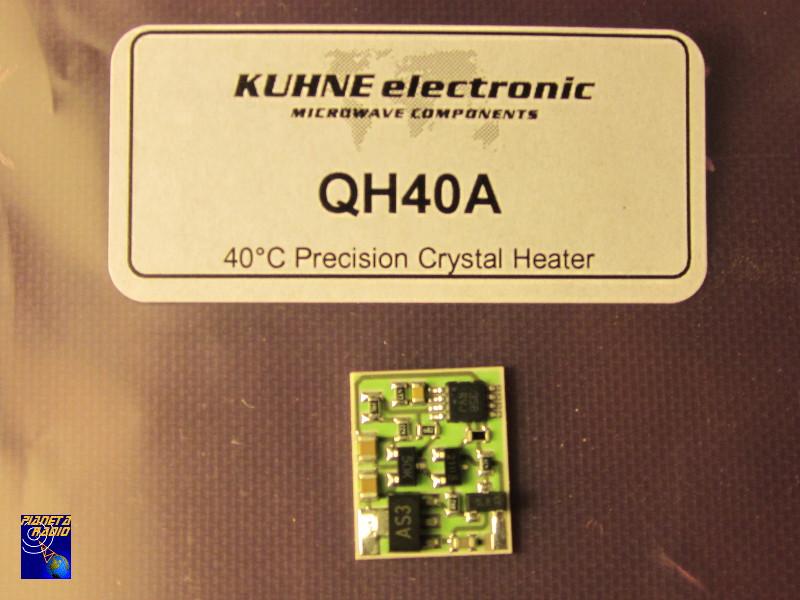 Yaesu FT-847 - Kuhne electronic TCXO QH40A