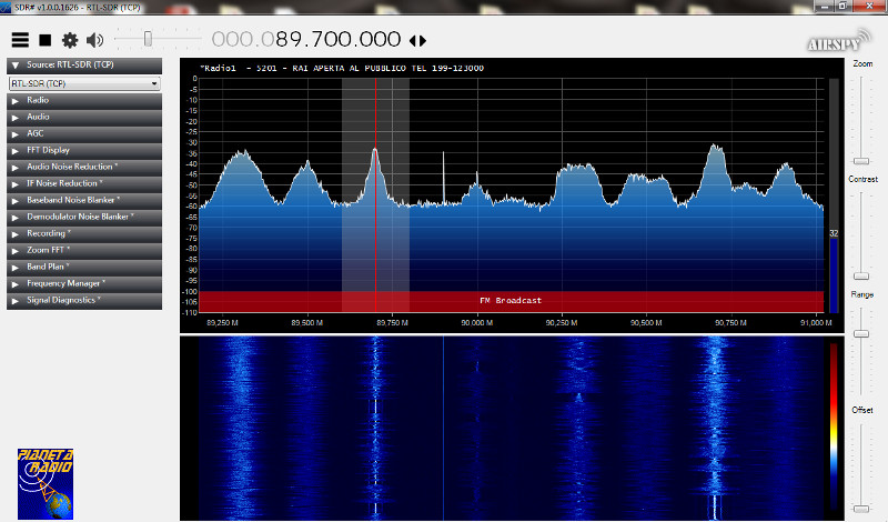 RTL-SDR Server - SDR#