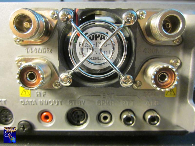 Yaesu FT-847 - Connettore N VHF
