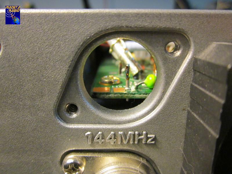Yaesu FT-847 - Connettore VHF