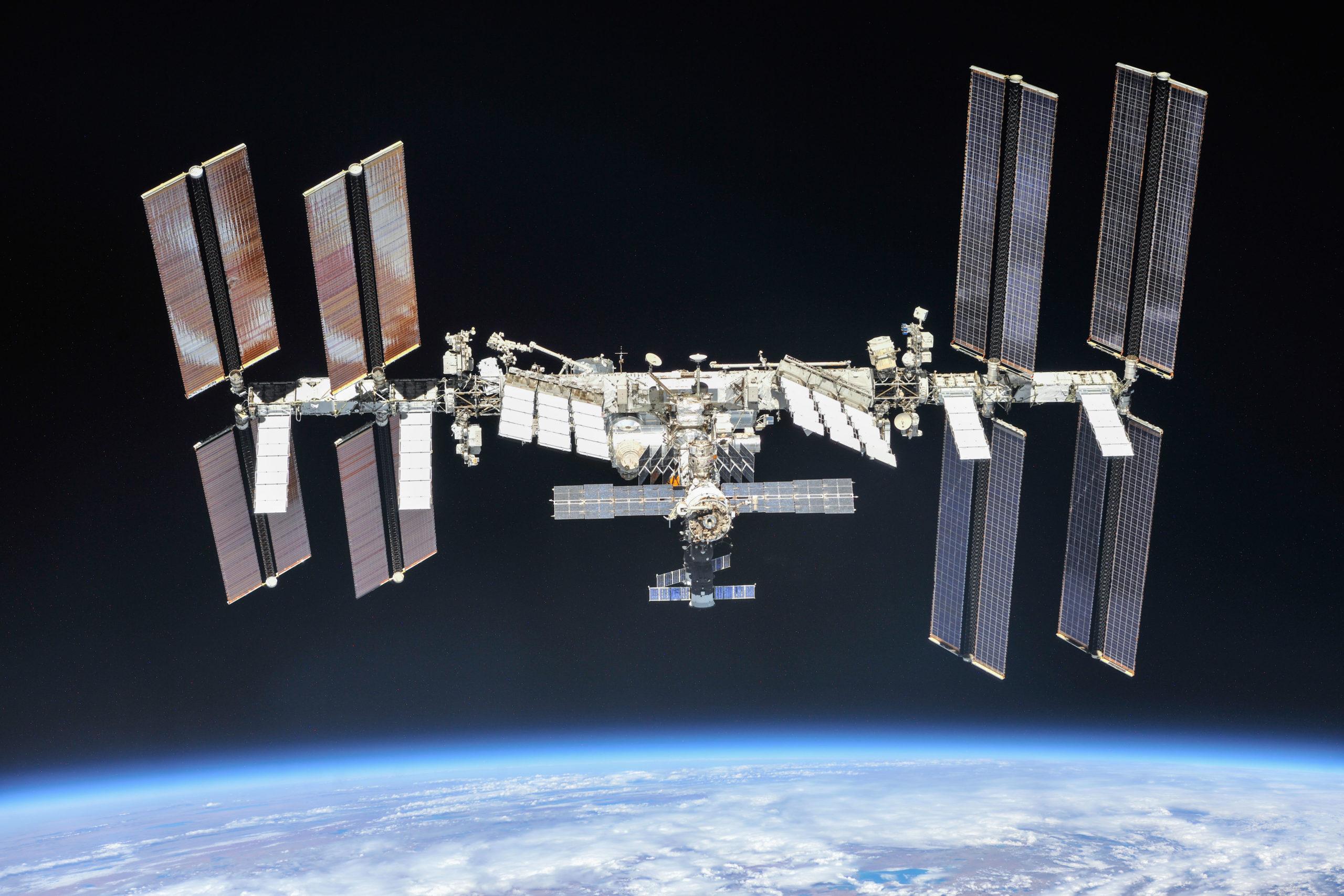 ISS - Image credit: NASA/Roscosmos