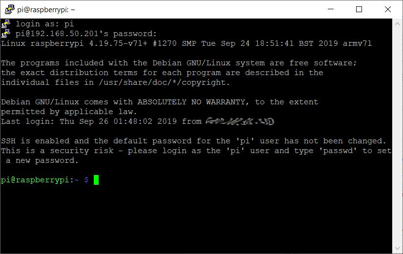 Raspbian - Command line