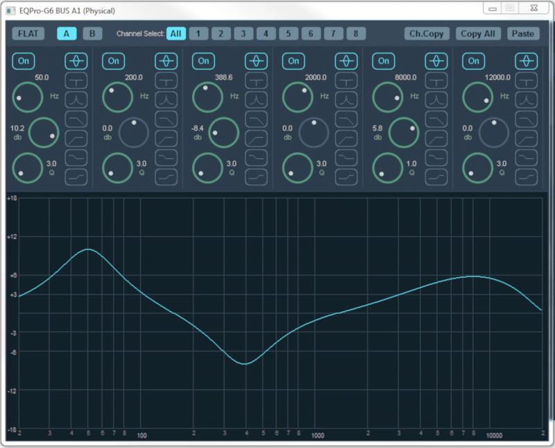Voicemeeter - Equalizzatore parametrico