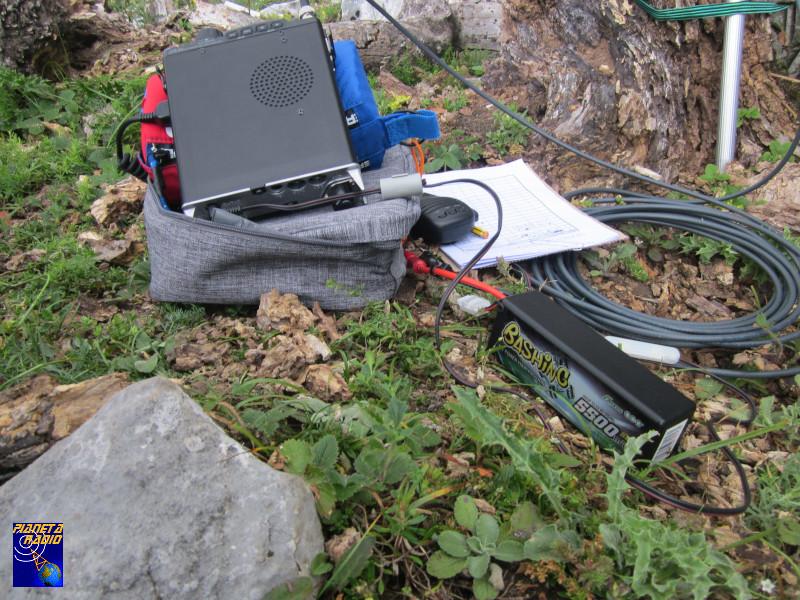 Radio e batteria LiPo