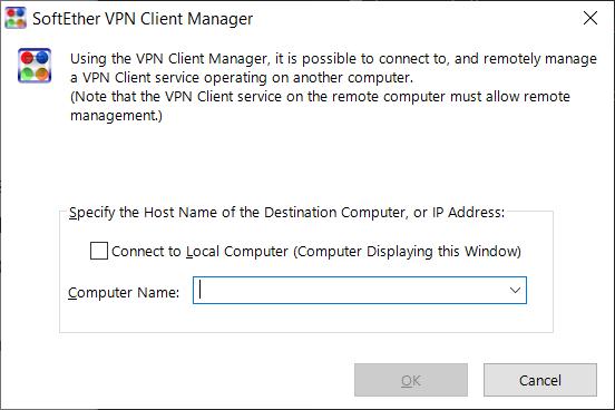 SoftEther VPN - Remote Client